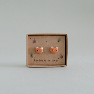 [25% off] Red Panda Earrings