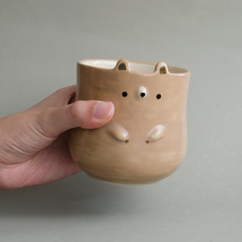 Walnut Bear Cup