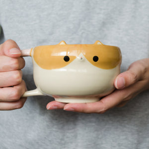 Panko Kitty Soup Mug