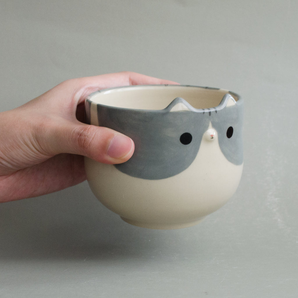 Pebble Kitty Cup