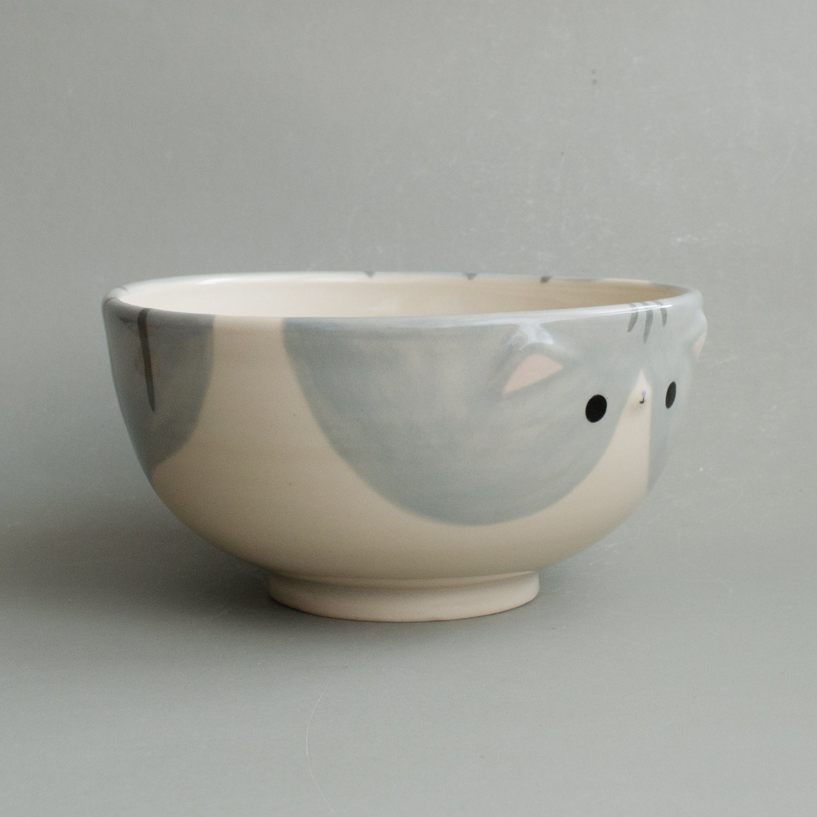 Pebble Kitty Bowl