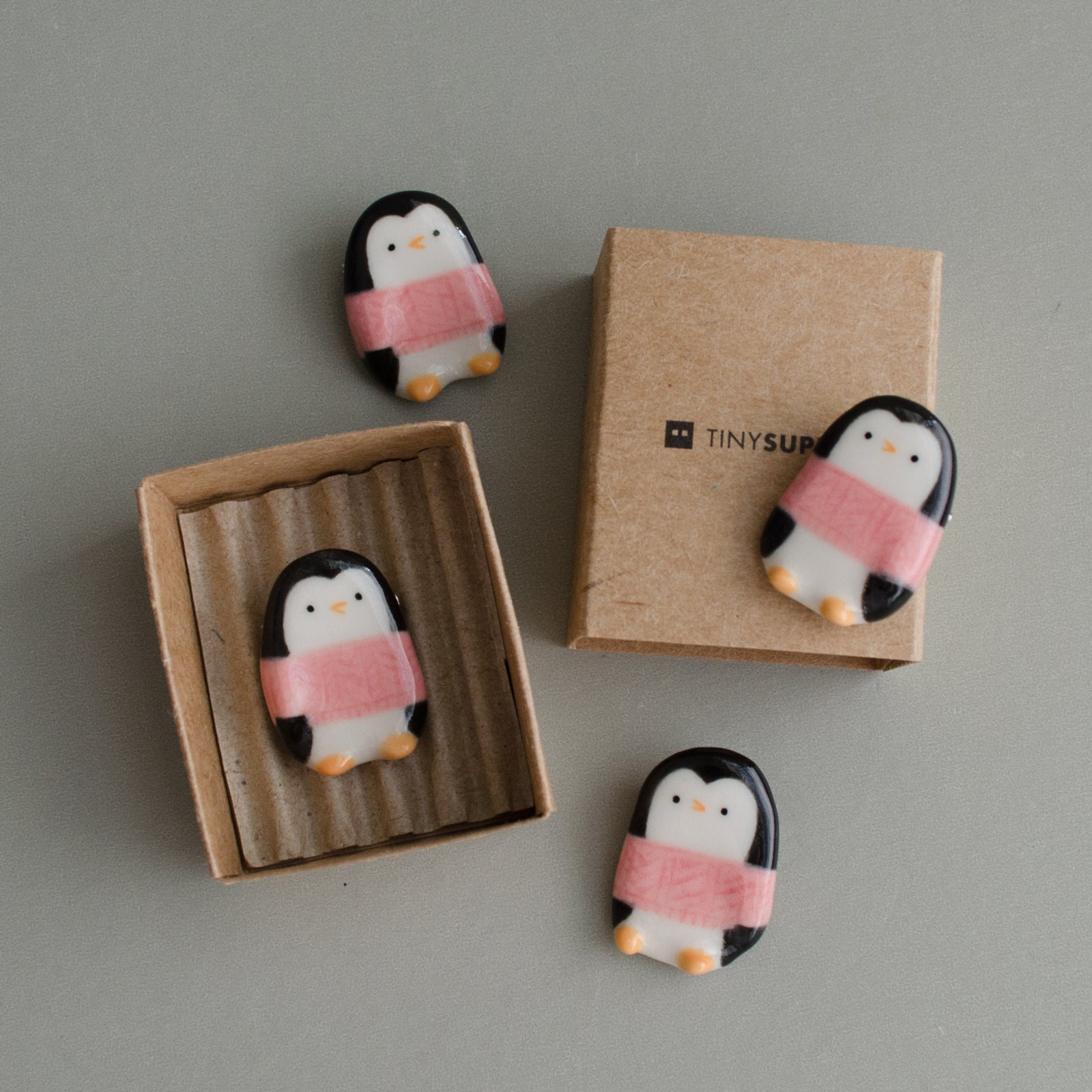 Sweater Penguin Brooch