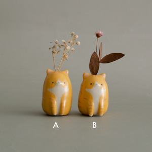 Baby Potato Cat Vase