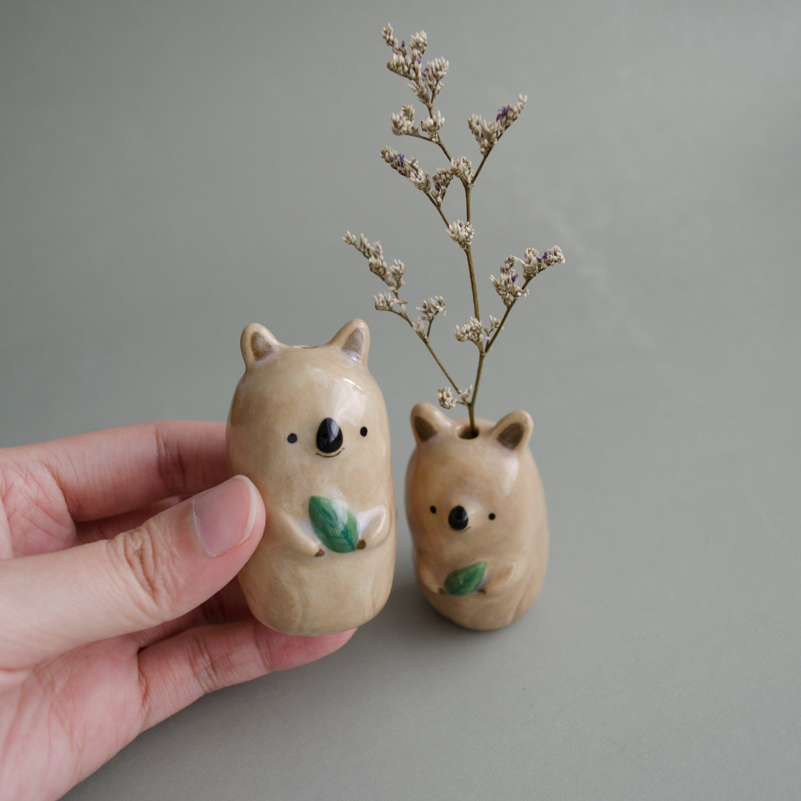 Not-As-Tiny Quokka Vase
