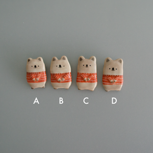 Tiny Quokka Porcelain Brooch