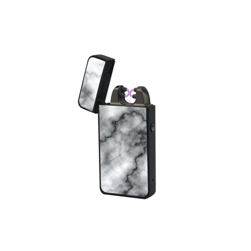 X Lighter Marble Black – Elektrische USB aansteker