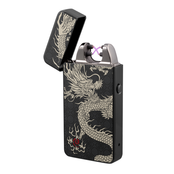 Plazmatic X Lighter Dragon – Elektrische USB aansteker – SILENT TECHNOLOGY