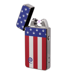 Plazmatic X Lighter 'Merica – Elektrische USB aansteker – SILENT TECHNOLOGY