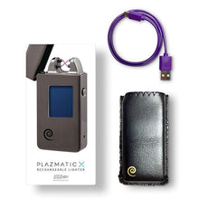 Plazmatic X Lighter Blue – Elektrische USB aansteker