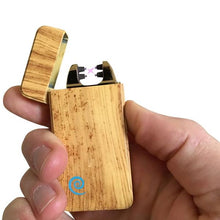 Plazmatic X Lighter Oak Wood – Elektrische USB aansteker