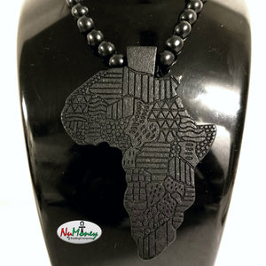 Wooden africa necklace conscious trap apparel wooden africa necklace aloadofball Choice Image