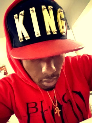 KING Crown Snapbacks (Multiple Colors)