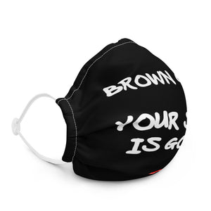 Brown Girl Premium Face Mask