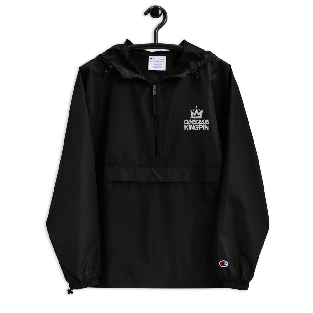 Conscious Kingpin Embroidered Champion Packable Jacket