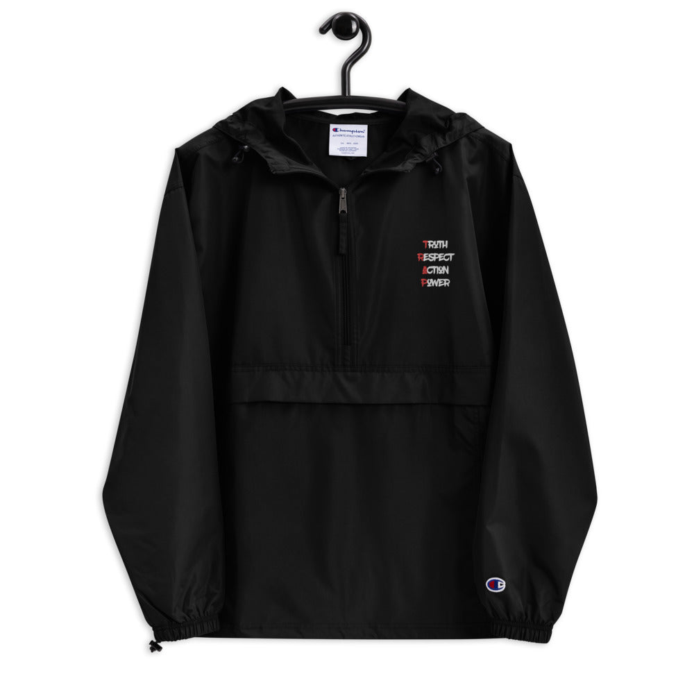Trap Principles Embroidered Champion Packable Jacket