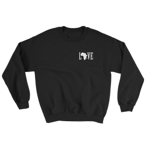 Black Love Crewneck Sweatshirt