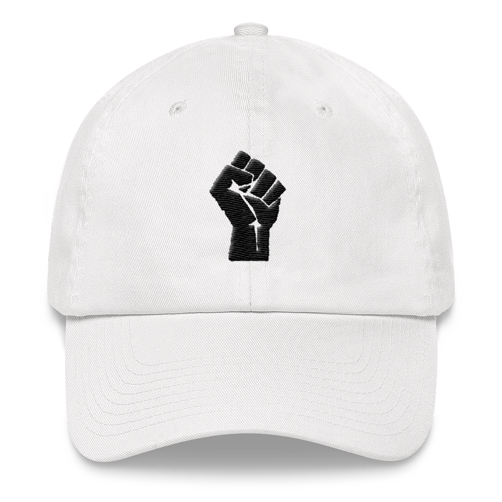 Black Power Fist Dad Hat