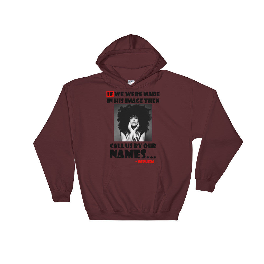 Call Us By Our Names Hoodie - (Black Print)
