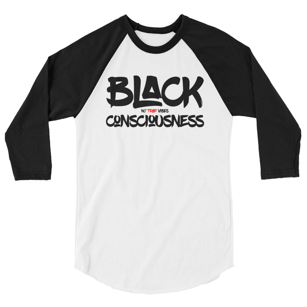 Black Consciousness Baseball Tee