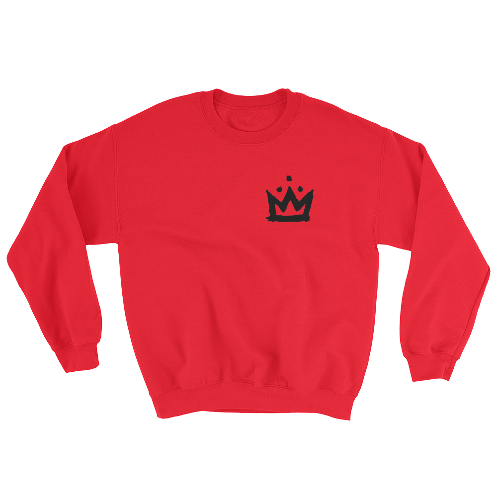 Graffiti Crown Crewneck Sweatshirt