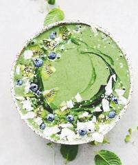 Matcha Tea Smoothie Bowl