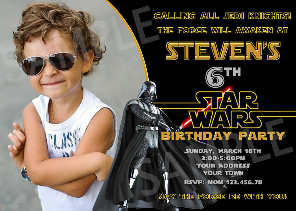 photograph about Star Wars Invitations Printable identified as Darth Vader Social gathering Invitation. Star Wars Invitation. Star Wars Printable. Star Wars Birthday Get together Printable Invitations.