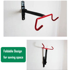 Large Premium Bike Bicycle Hanger Hook Wall Mounted Garage Storage Rack Mount