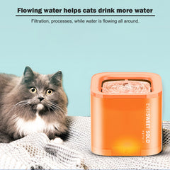 Petkit Eversweet SoloPet Dog Cat Smart Water Dispenser Drinking Fountain feeder Bowl Ultra-Silent - blue