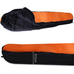 -15°C Double Camping Sleeping Bag Combo Twin Thermal Tent Hiking Winter Compact