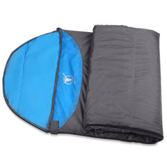 Outdoor Camping Envelope Sleeping Bag Thermal Tent Hiking Winter Single - blue