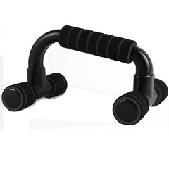 Push Up Bar handle Push-up Stand Grip For Home Fitness Exercise Workout - black