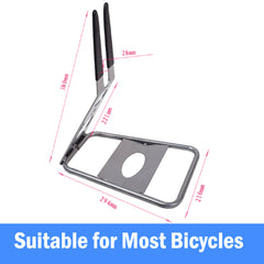 Top Quality Floor Stand Holder Triangle Rear Hub Mount Bike Bicycle Storage Rack