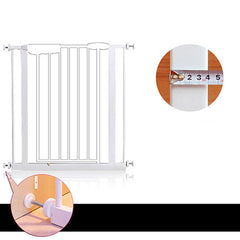 Adjusted Baby Pet Child Safety Security Gate Auto Swing Door