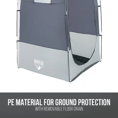 Bestway Portable Shower Tent Camping Toilet Change Room Station Port Privacy