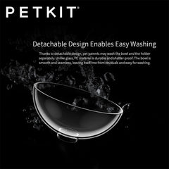 Petkit Fresh Nano 15 Degree adjustable Pet Cat Dog Non Toxic Feed Feeding Bowl Double