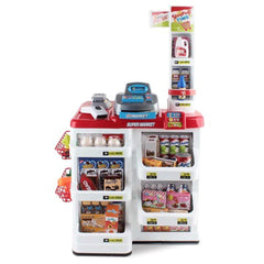 Supermarket Play Set Grocery Shopping Pretend Role Play w/ Trolley
