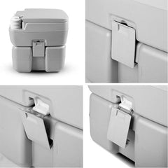 20L Outdoor Portable Camping Toilet With Carry Bag