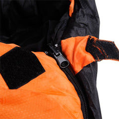 Outdoor Camping Sleeping Bag Thermal Tent Hiking Winter Compact Orange -15°C