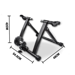 Indoor Bicycle Trainer Home Gym Exercise Foldable Parabolic Bike Training Fitness Cycling Stand