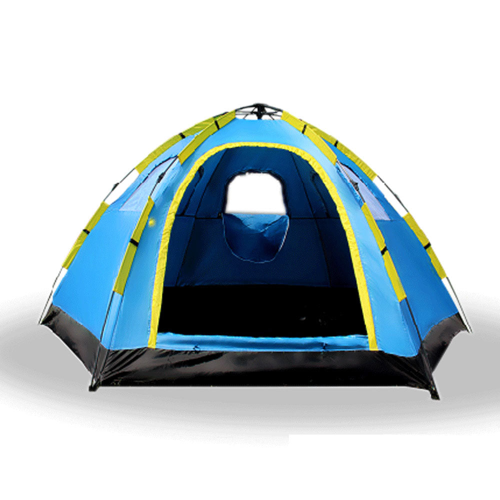Next  sc 1 th 225 & 6 PERSON INSTANT POP UP CAMPING TENT SETS UP IN SECONDS u2013 Bargene