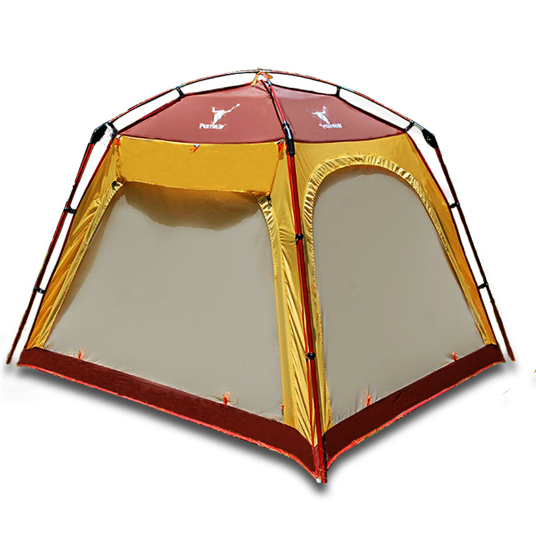 4 - 6 Person Man Family Camping Dome Tent Canvas Swag Hiking Beach Shade Shelter