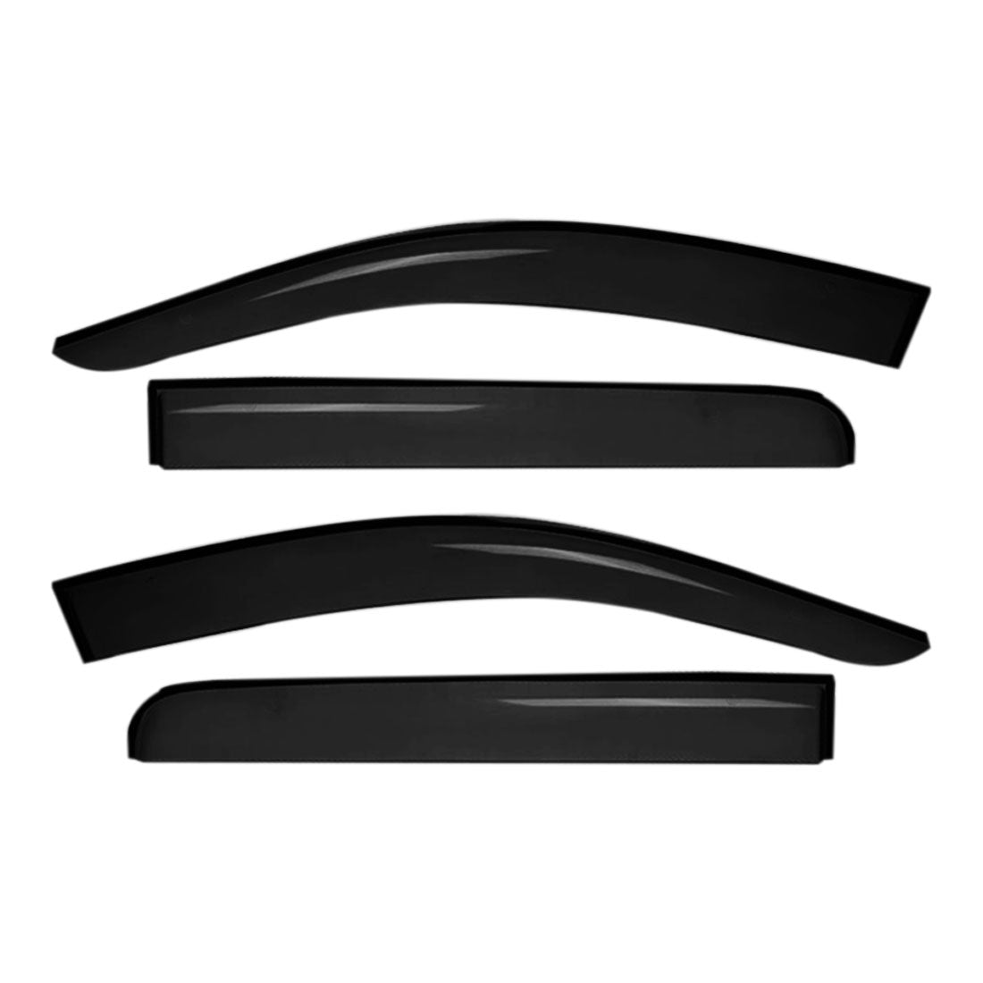 Weather shields Door Window Visors Weathershields Guard For Toyota Kluger 2014 - 2020