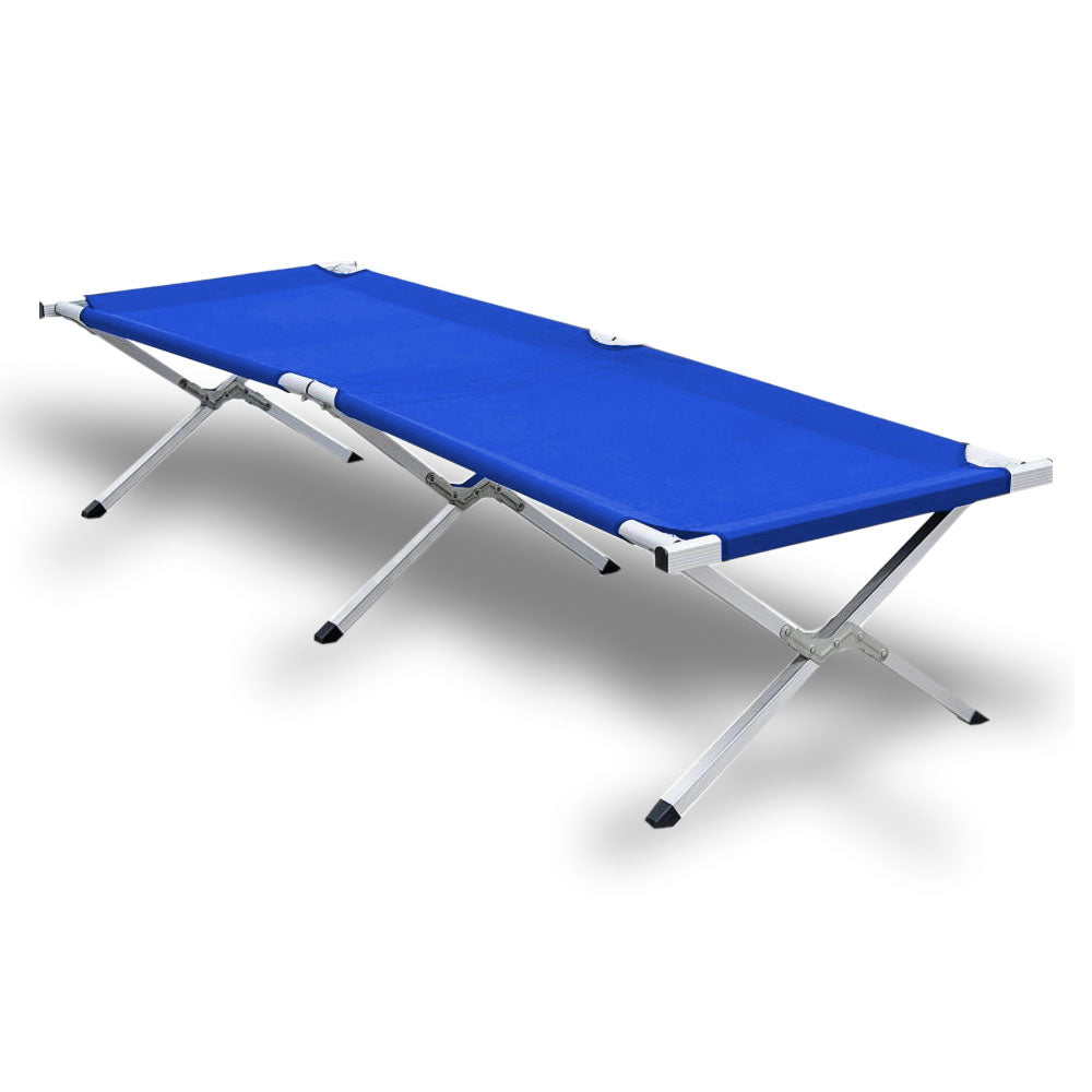 - Camping Bed Folding Stretcher Light Weight W/ Carry Bag Camp