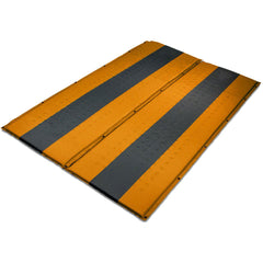 Double Self Inflating Mattress Sleeping Mat Air Bed Camping Hiking Joinable - orange