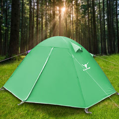 2 Person Man UV Protect Outdoor Ultra Lightweight Cycling Camping Waterproof Tent - green