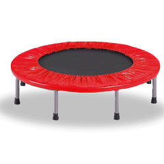 Mini Trampoline Jogger Rebounder Home Gym Workout Fitness - red