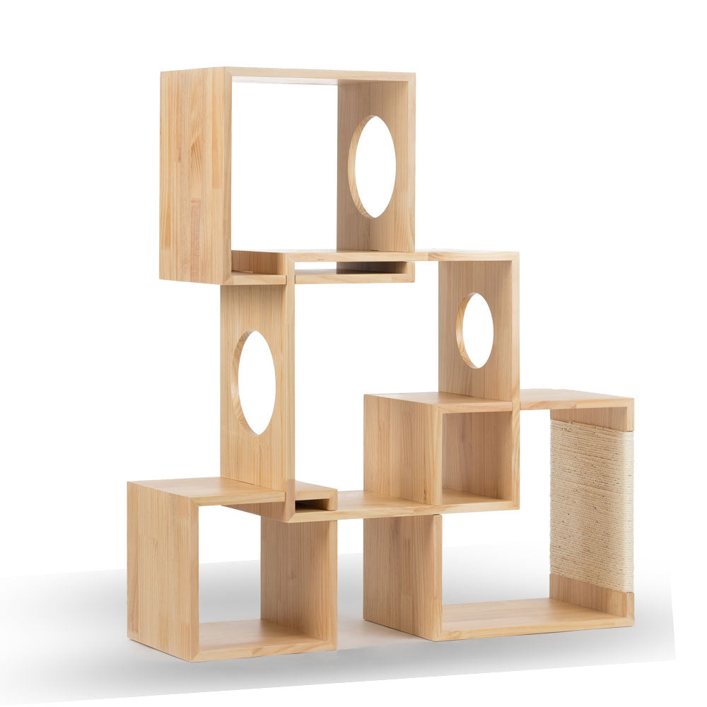 Pidan Geometrical Cat Tree Medium