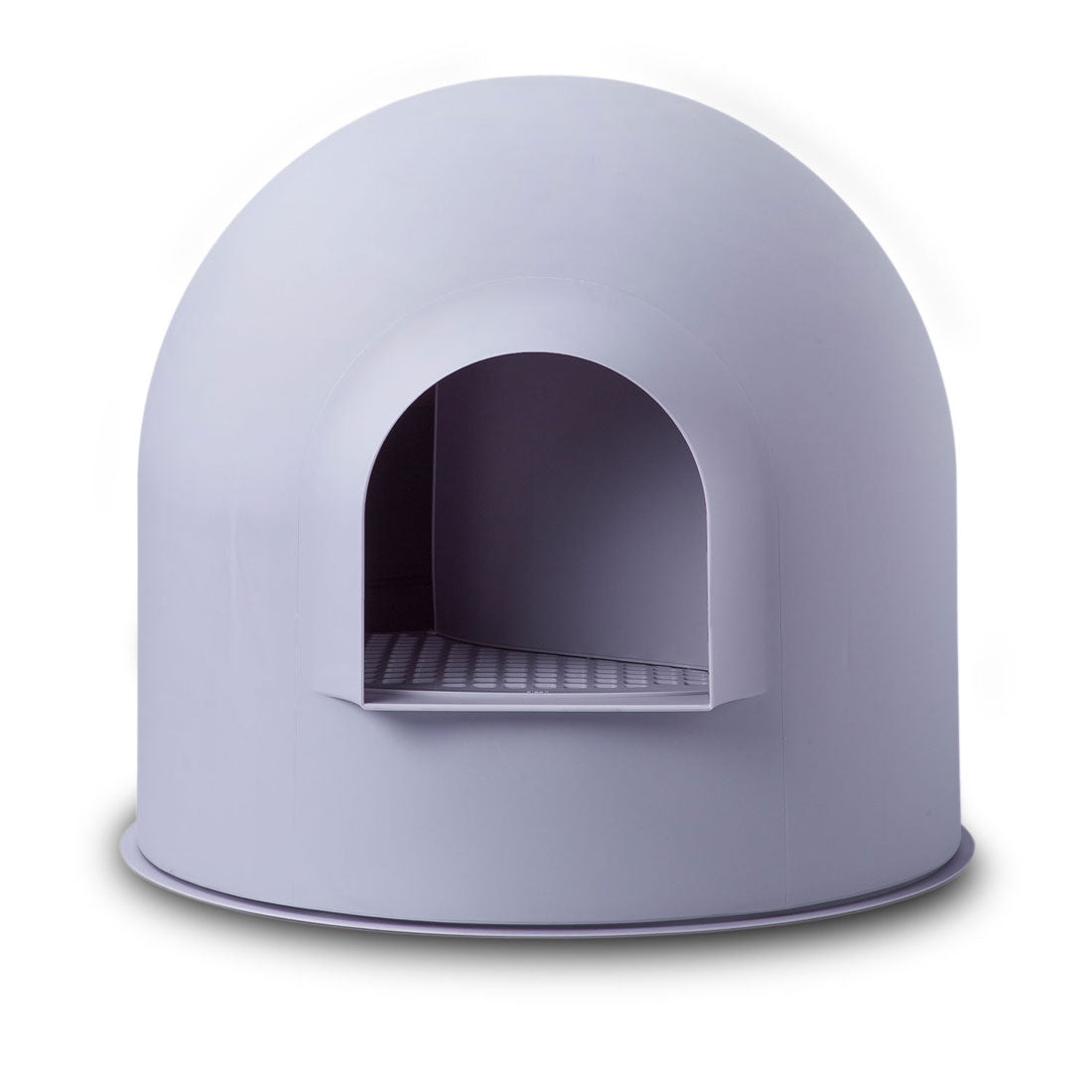 Pidan Igloo Snow House Portable Hooded Cat Toilet Litter Box Tray House with Scoop - purple