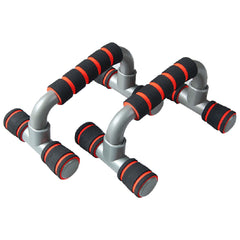 Push Up Bar handle Push-up Stand Grip For Home Fitness Exercise Workout - red