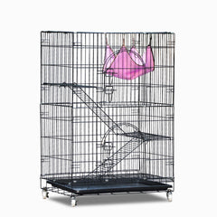 3 Level Rabbit Bird Cage Ferret Parrot Aviary Cat Rat Aviary Budgie Hamster Pet Cages Castor